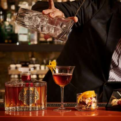 Cocktail Apple Brandy di Luigi Barberis