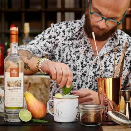 Cocktail La contadina di Maurizio Sironi