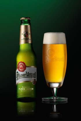 Pilsner Urquell pastorizzata in bottiglia 33 cl