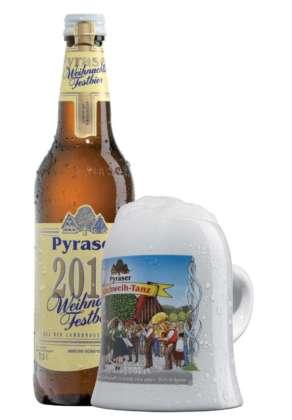 Pyraser Weihnachtsbier bottiglia 50 cl