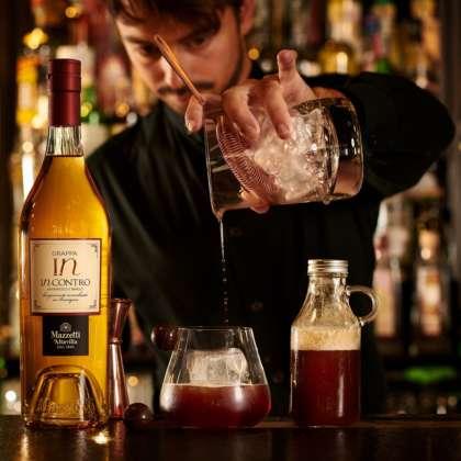 Cocktail Grappa Tonic di Samuel Donniacuo