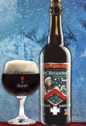 St. Bernardus Christmas Ale in bottiglia 75 cl