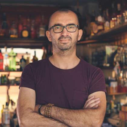 Il bartender Stefano Armiento