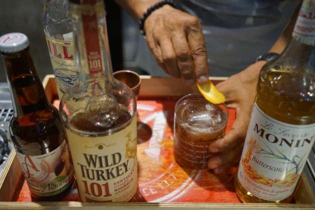 Il cocktail Crazy Burdel di Charles Flamminio