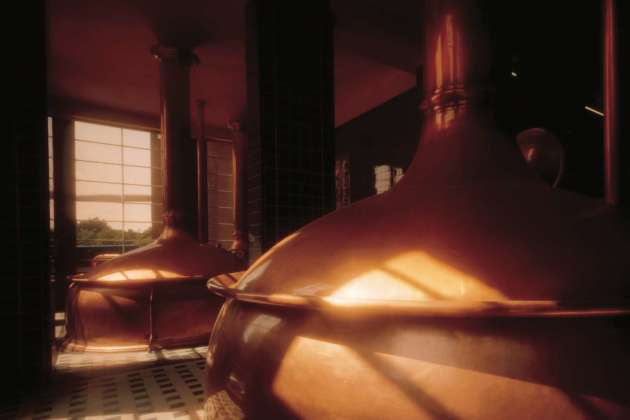 Una sala di cottura di Swinkels Family Brewers