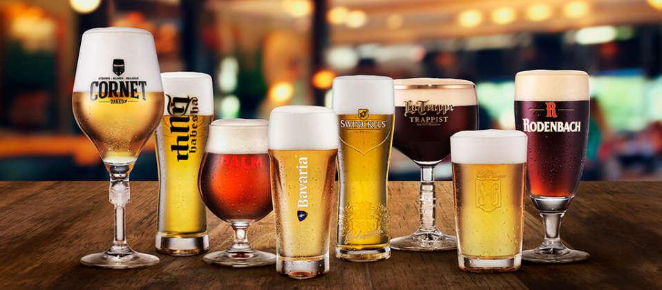 Brindisi con alcune specialità Swinkels Family Brewers