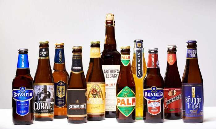 Specialità olandesi e belghe in bottiglia di Swinkels Family Brewers