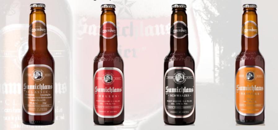 Gamma Samichlaus: Classic, Helles, Schwarzes, Barrique in bottiglie 33 cl.