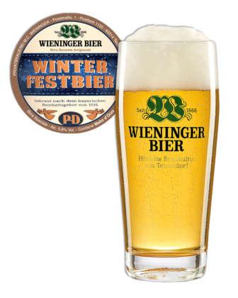 Wieninger Winter Festbier in fusto da 15 litri