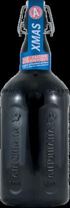 Birra Antoniana XMas alle Castagne nella bottiglia magnum da 2 litri con tappo meccanico