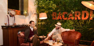 Don Facundo Bacardì Massò e Monsieur Boutillion al Dhole di Milano