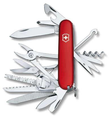 Coltellino da tasca multiuso Victorinox Swiss Champ 33 funzioni