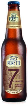 Birra 7 Luppoli L'Affumicata 2018 del Birrificio Angelo Poretti in bottiglia 33 cl
