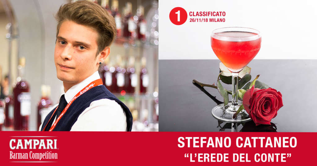 Cocktail L'Erede del Conte di Stefano Cattaneo
