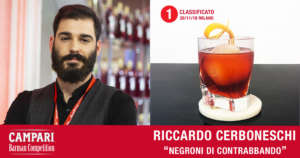 Cocktail Negroni di Contrabbando di Riccardo Cerboneschi