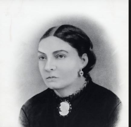 Ritratto di Lucia Victoria Moreau, più conosciuta come Doña Amalia Bacardì