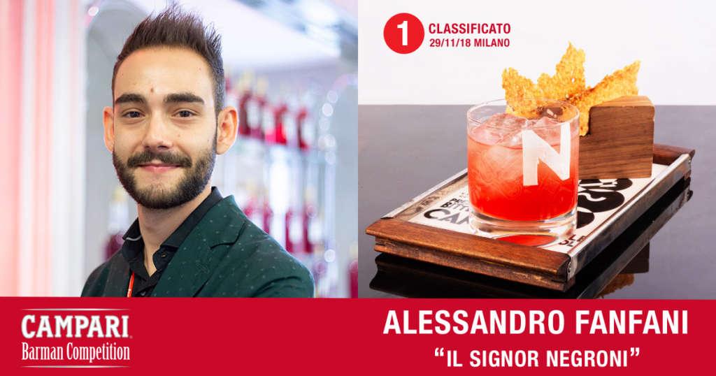 Cocktail Il Signor Negroni di Alessandro Fanfani