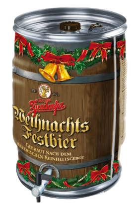 Zirndorfer Weihnachtfestbier in fusto Collkeg autorefrigerante da 20 litri