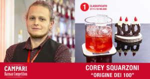 Cocktail Origine dei 100 di Corey Squarzoni