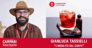 Cocktail L'Insolito del Conte di Gianluca Tassielli