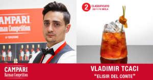 Cocktail Elisir del Conte di Vladimir Tcaci