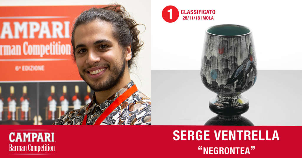 Cocktail Negrontea di Serge Ventrella