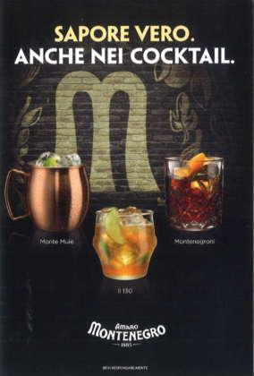 Locandina Cocktail by Amaro Montenegro lato B