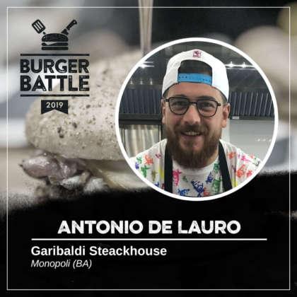 Antonio De Lauro, Garibaldi Pub & Steackhouse, Monopoli-Ba