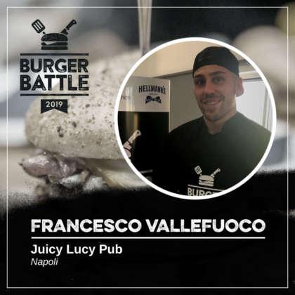 Francesco Vallefuoco, Juicy Lucy Pub, Napoli