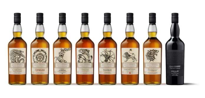Diageo Whisky Game of Thrones