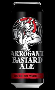 Birra Arrogant Bastrd Ale - Stone Brewing
