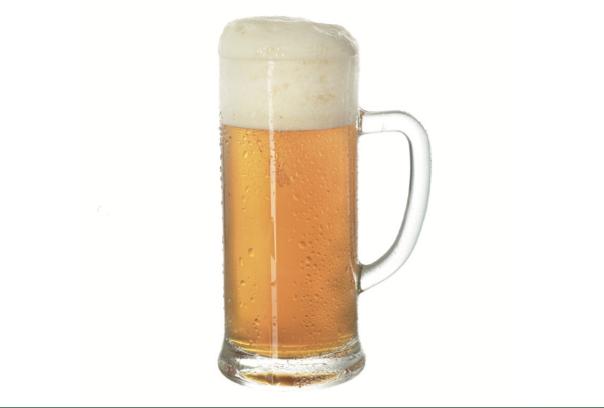 Boccale con manico, tradizionale bicchiere per birre bavaresi.