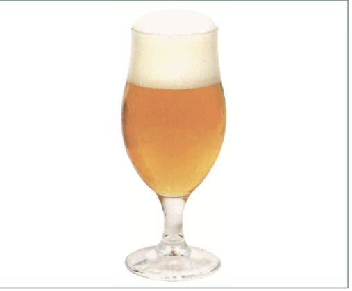 Calice a tulipano grande, per molte birre diverse, dalle lager alle pale ale.