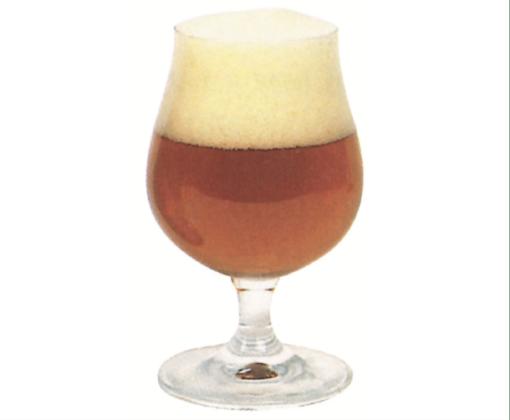 Calice tondo e panciuto, per birre aromatiche e corpose.
