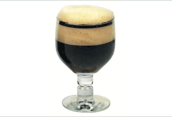 Coppa grande tipica per birre da meditazione come quelle trappiste e d'abbazia.