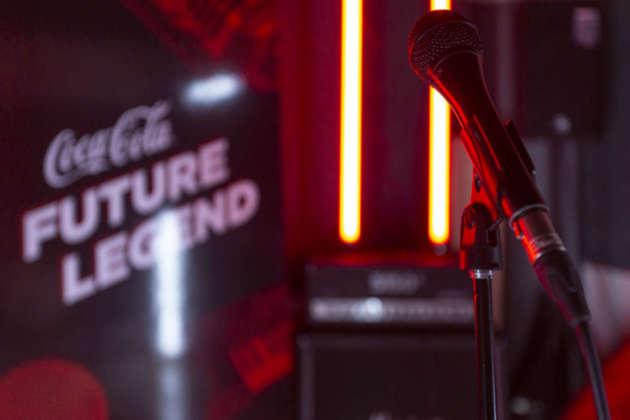 Studio di registrazione Future Legend by Coca-Cola