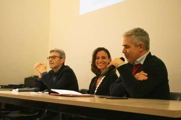 Il fotografo Massimo Siragusa, Cristina Hanabergh di Birra Peroni, Max Giovagnoli di IED Roma.