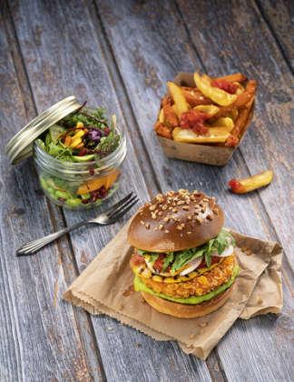Salomon Green Heroes Crunchy Chikn Burger