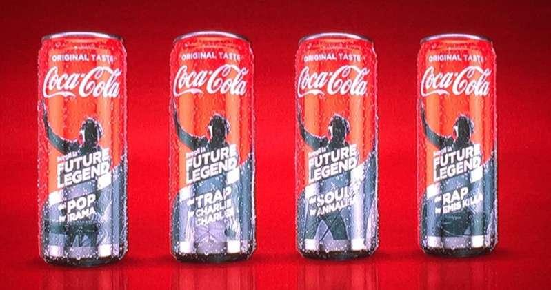Le lattine Coca-Cola Future Legend dedicate ai quattro coach