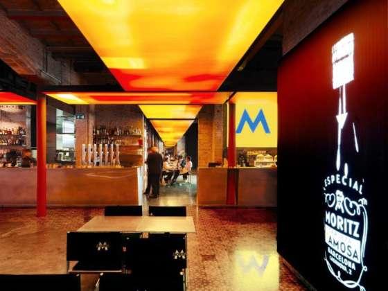 Ingresso Antigua Fabrica Moritz di Barcellona