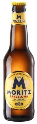 Cerveza Moritz Barcelona Original Lager 4,7° alc