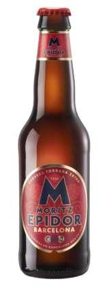 Cerveza Moritz Epidor Barcelona, 7,2° alc