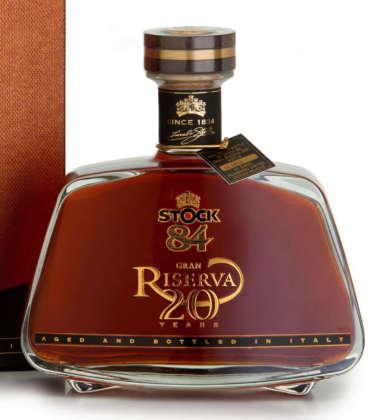 Brandy Stock 84 Riserva 20 anni