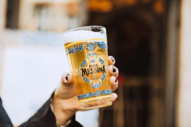 Nuovo decoro anche per i bicchieri di Birra Messina