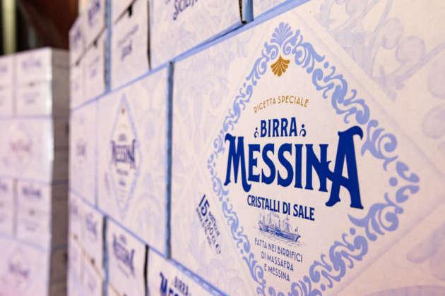 Il nuovo marchio romboidale di Birrificio Messina