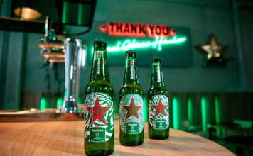 Birra Heineken con le nuove etichette unlimited