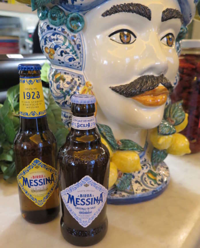 Birra Messina 1923 e Birra Messina Cristalli di Sale
