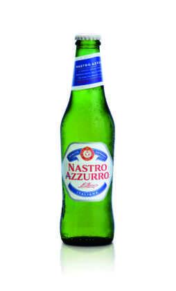 Nuova bottiglia 33 cl Nastro Azzurro