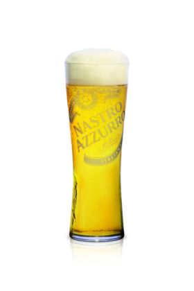 Nuovo bicchiere per Nastro Azzurro