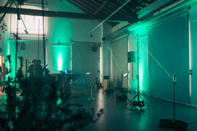 Inner Light Bubbles, installazione luminosa by Orthographe